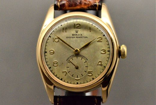 Rolex Bubble Back horloge